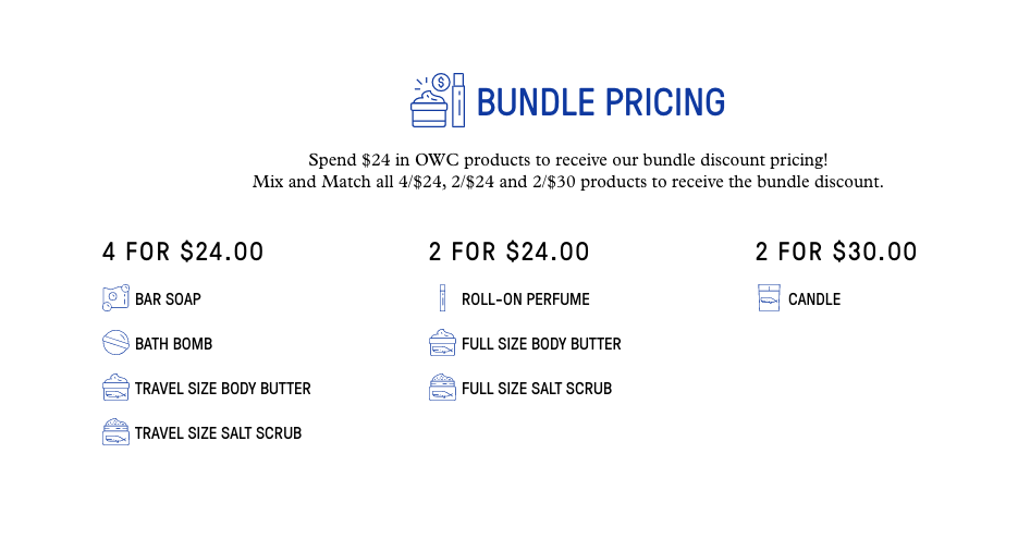Bundle Pricing Tiers Old Whaling Company